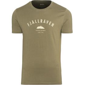 Fjällräven Trekking Equipment - Camiseta manga corta Hombre - verde